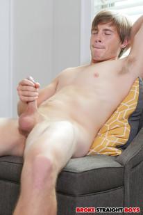 Jonny Cox Jerks Off from Broke Straight Boys