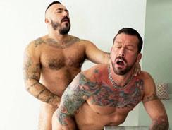 Alessio Romero And Hugh Hunte from Alpha Males