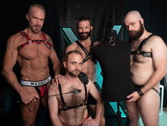 Dallas Harper Brendan And Dax from Hairy And Raw