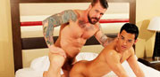 Rocco Steele And Eli Lewis from Alpha Males