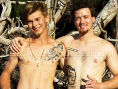 Frisbee Nude 4 from Island Studs