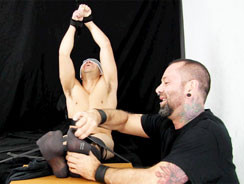 Bert Bound In Tickle Ecstasy from Tickled Hard