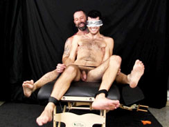 Scruffy Ryker Blindfolded from Tickled Hard