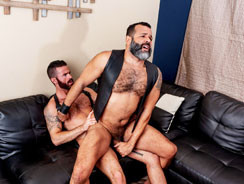 Brendan And Sterling from Hairy And Raw