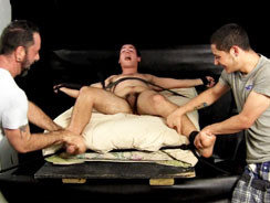 Jason Foot Tickle Torture from Tickled Hard