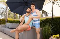 Brysen And Riley Bareback from Sean Cody