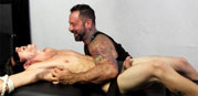 Marc Squeals And Cums from Tickled Hard