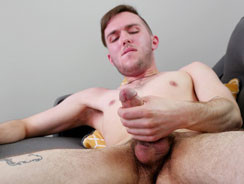 Ryan Parks Jerking Off His Di from Broke Straight Boys