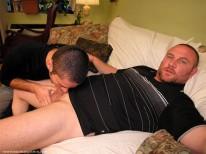 Marco Blows Gavin from New York Straight Men