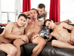 Straight Dudes Like Watching from Next Door Twink