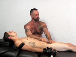 Kae And Carson Tickle Footjob from Tickled Hard
