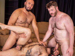 Popcorn And Threesomes from Bear Films