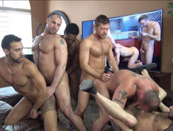 Filthy Fucking Orgy from Naked Sword