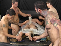 Dean Tickle Tortured from Tickled Hard