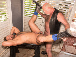 Chuck Collier And Alejandro A from Hairy And Raw