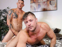 Jace Chambers And Jack Andy from Bareback That Hole