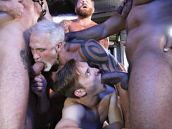 Rocco Steeles Father And Son from Naked Sword
