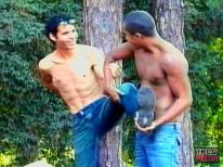 Latino Thugz Fuck In The Bush from Thug Vids