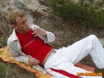 Roma Smokes And Strokes from Boys Smoking