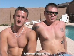 Paul And Smoke from Amateur Straight Guys