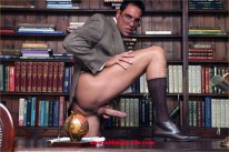 Library Jerk Off from With Marcello