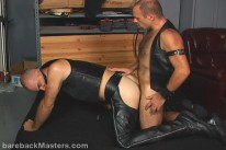 Leather Alley from Bareback Masters