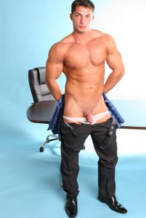 Euro Muscle Hunk Denis from Men At Play