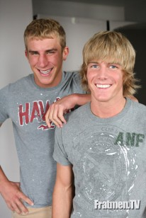 Ross And Trey from Frat Men