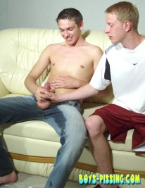 Alex And Artur from Boys Pissing