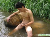 Sexy Thai Shows Off from Boykakke