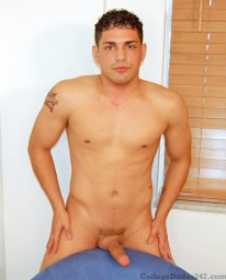Enrique Busts A Nut from College Dudes