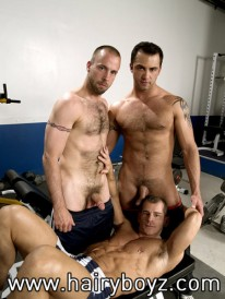 Ford And Jd And Lucas from Hairy Boyz
