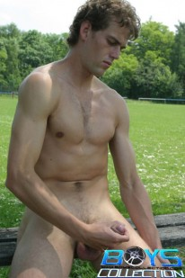 Naked Soccer Player from Boys Collection