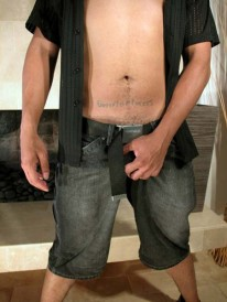 Street Dude Strips from Young Hot Latinos