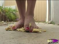 Smash from Boy Feet