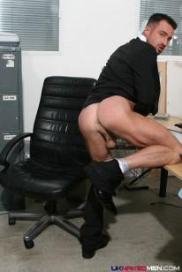 Ross Hurston Suited Up from Uk Naked Men
