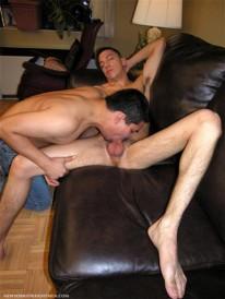Slurping Carlos from New York Straight Men