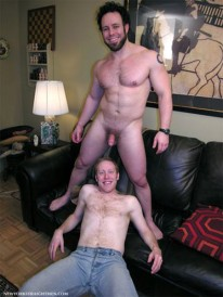 Ben Blows Dave from New York Straight Men
