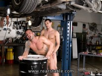 Tailpipes Scene 4 from Raging Stallion