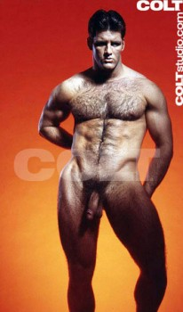 Hairy Chested Men from Colt Studio