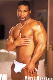 Hector Washington from Muscle Hunks