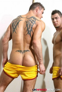 Carl In Yellow from Uk Naked Men