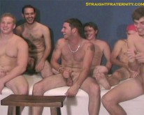 Cum Party from Straight Fraternity