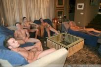 5 Guy Circle Jerk from Next Door Buddies