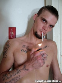 Bj Cock Smoking from Straight Naked Thugs