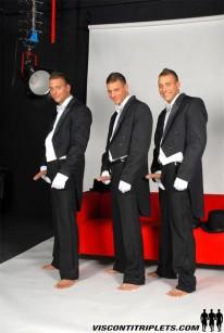 Visconti Boys Gay Triplets from Visconti Triplets