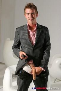 Matt In His Suit from Uk Naked Men