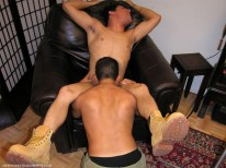 Bobby Blows Angel from New York Straight Men