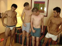 Anal Orgy from Broke Straight Boys