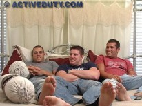 Soldier Threeway from Active Duty